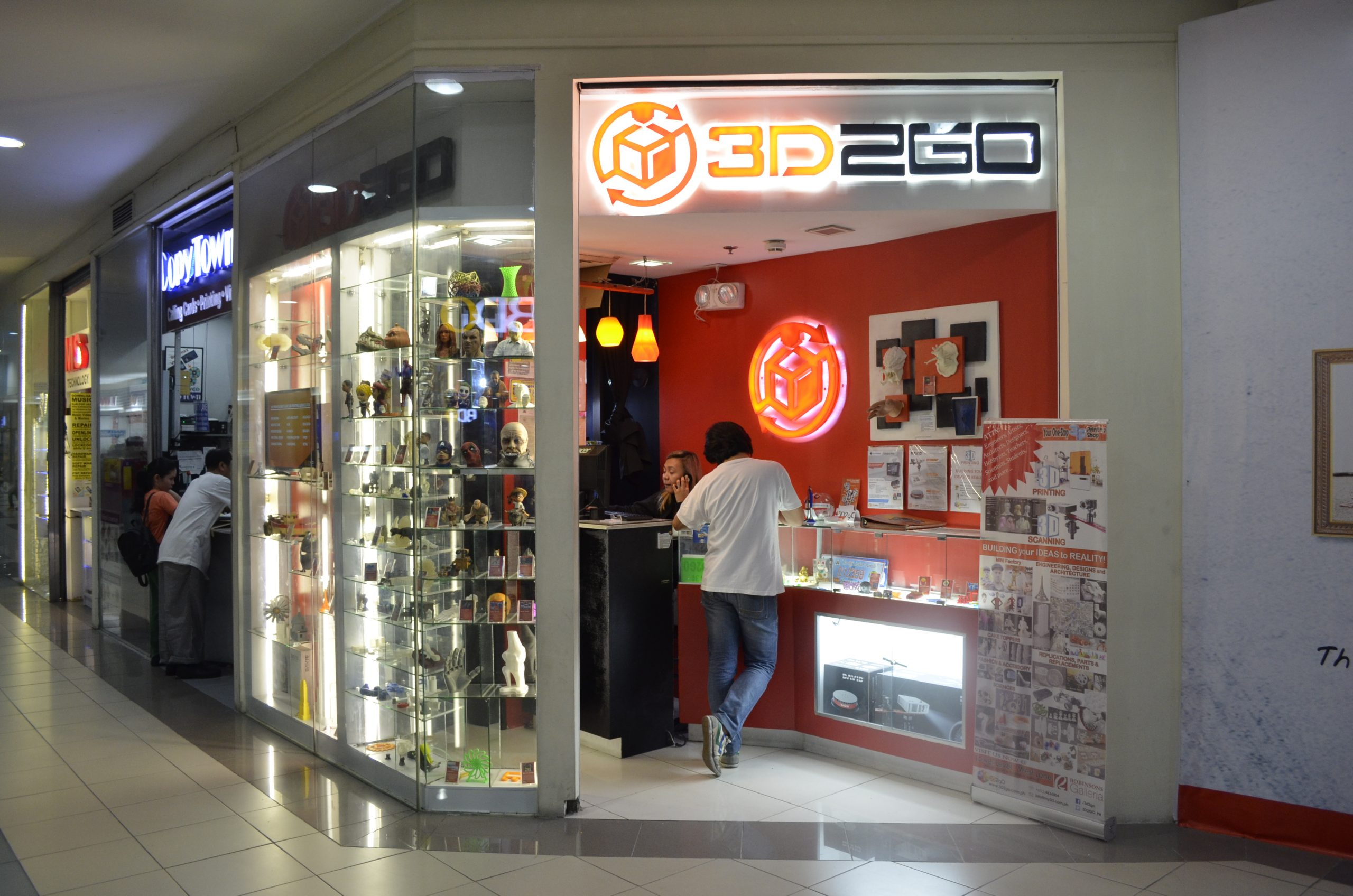 3D2GO Galleria branch