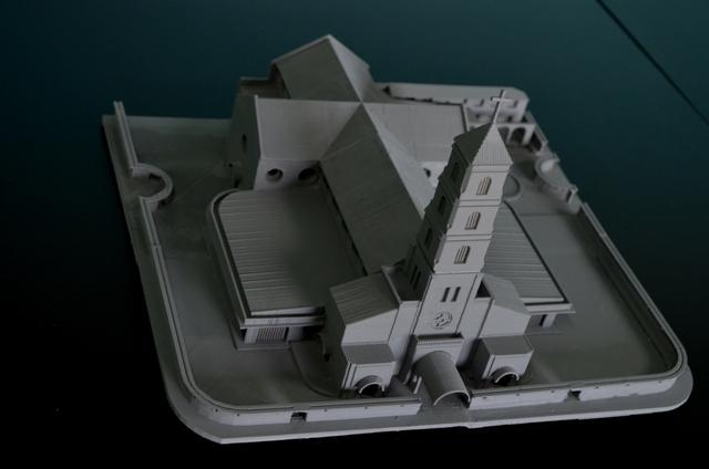 Sto Nino Church scale model