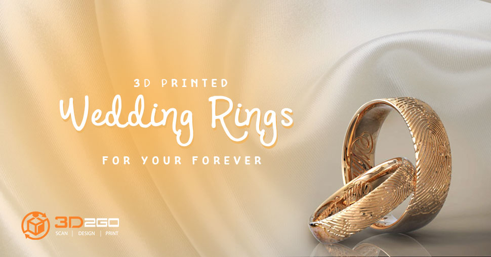 ring printed engagement wedding plain band rings my