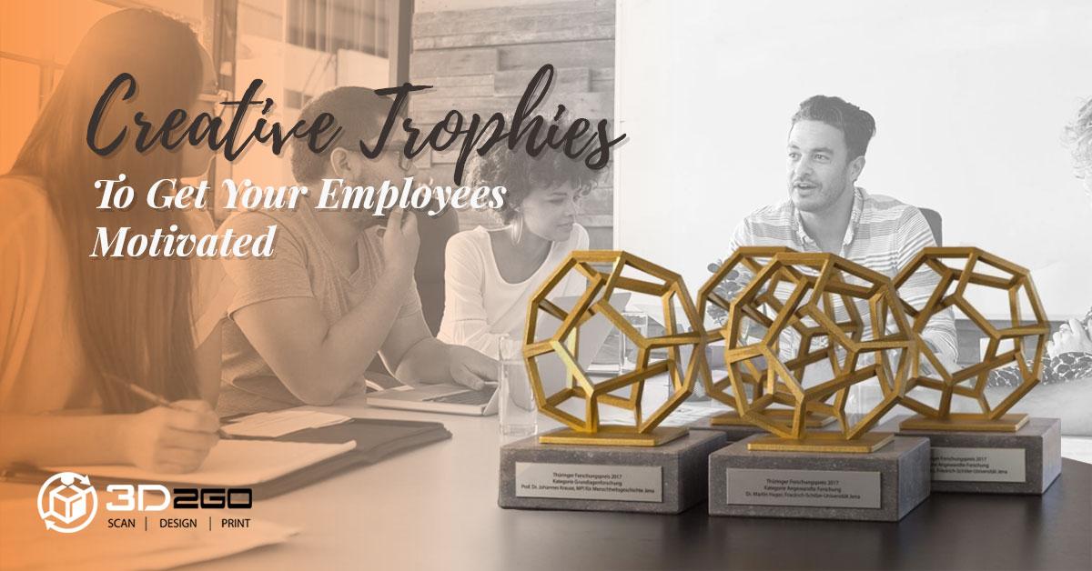 3D printed trophies