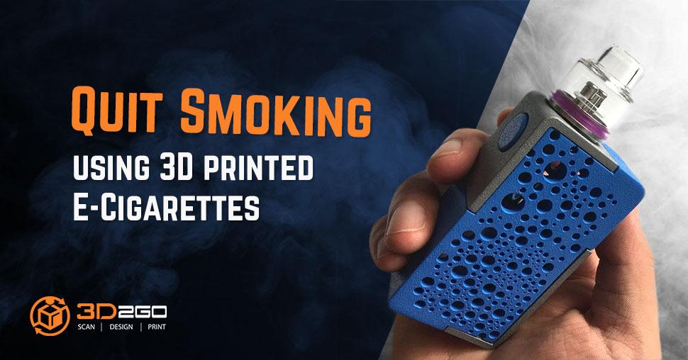 3D printed vape mod