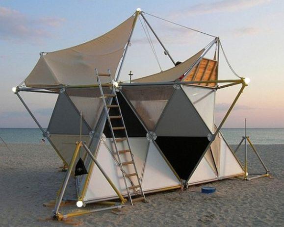3D printed tent