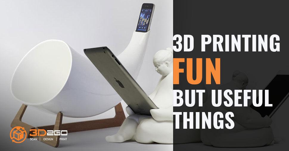 3D printed useful things
