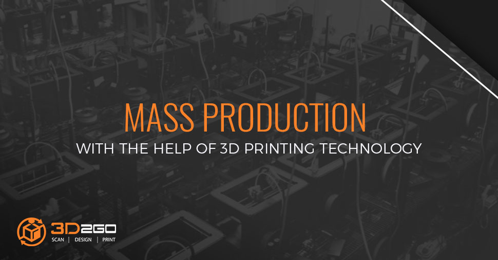 Mass production 3D printing
