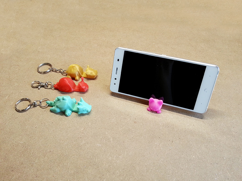 3D printed smartphone stand