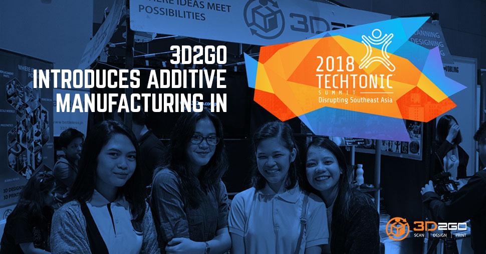 3D2GO PH in Techtonic Summit 2018