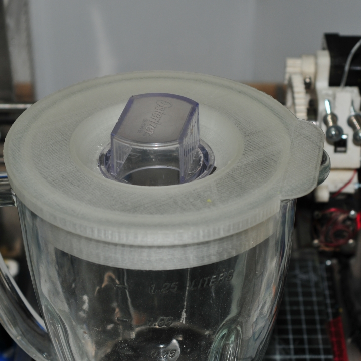 3D printed blender lid