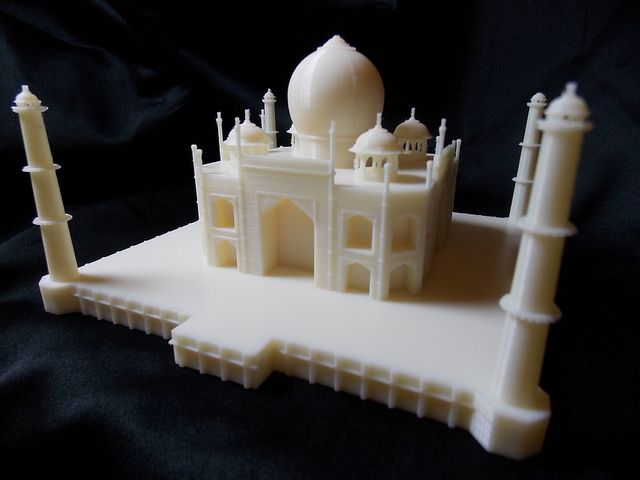 3D printed miniature of Taj Mahal