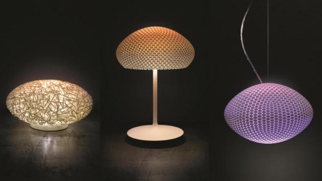 3D printed minimalist lamp