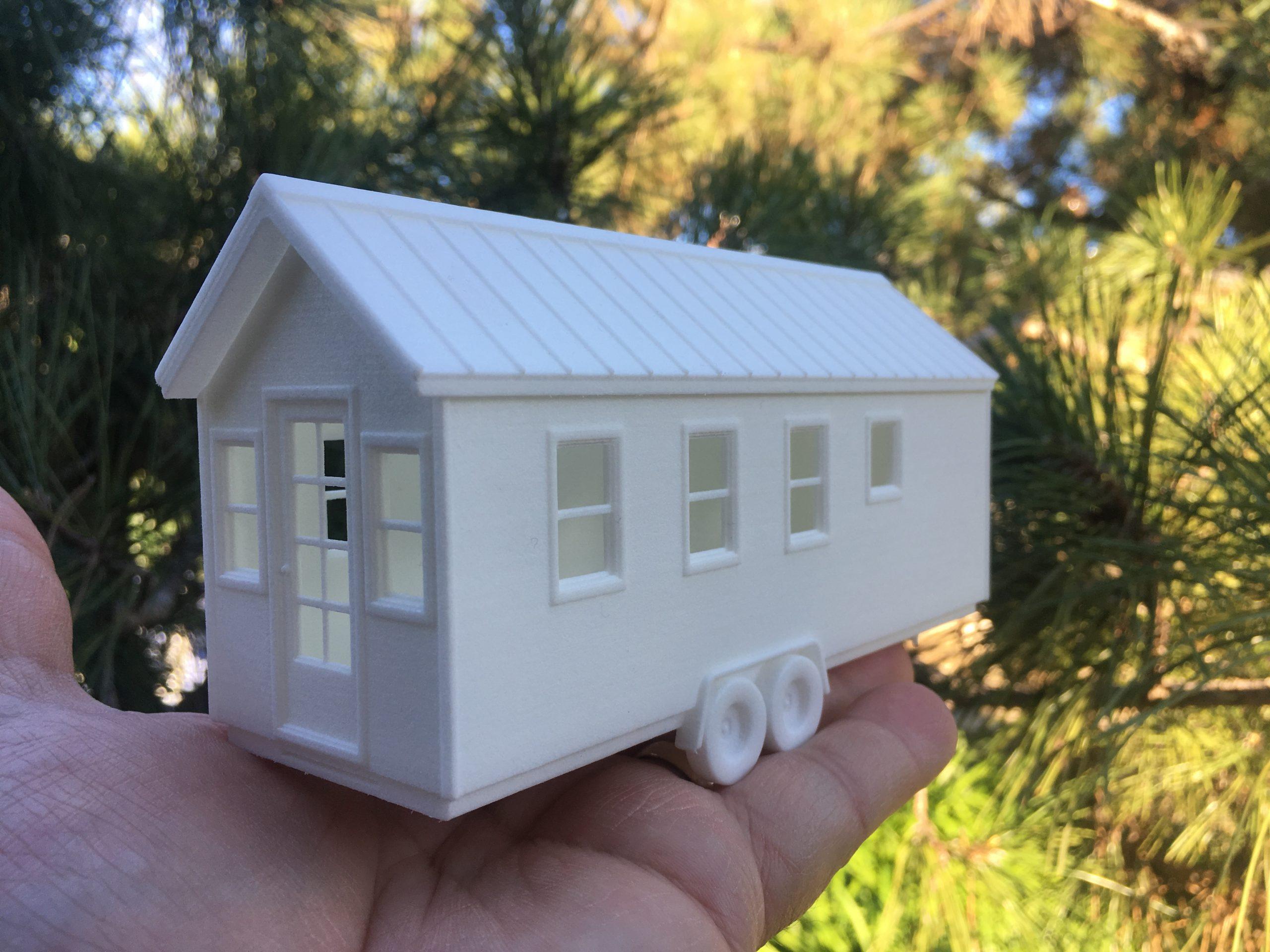 3D printed house model