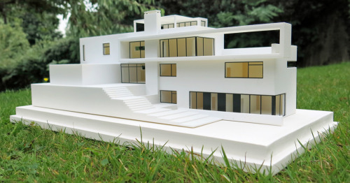 3D printed scale model of a house