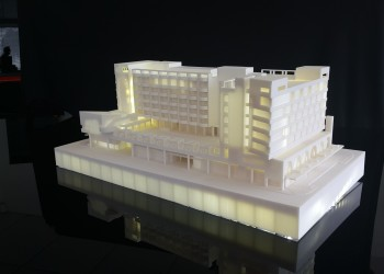 3D printed scale model
