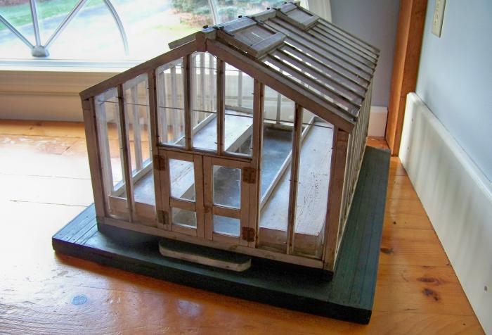 1900s greenhouse model