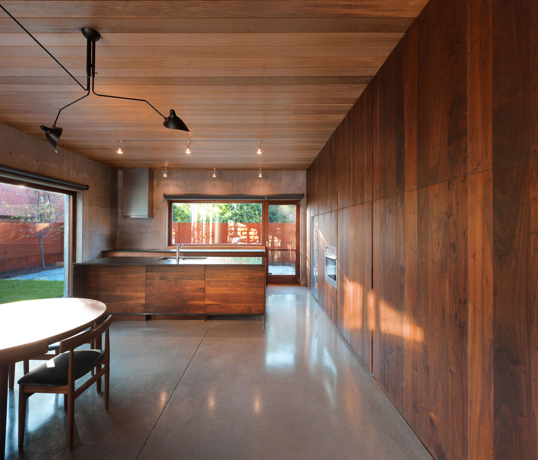 wood theme as an interior design