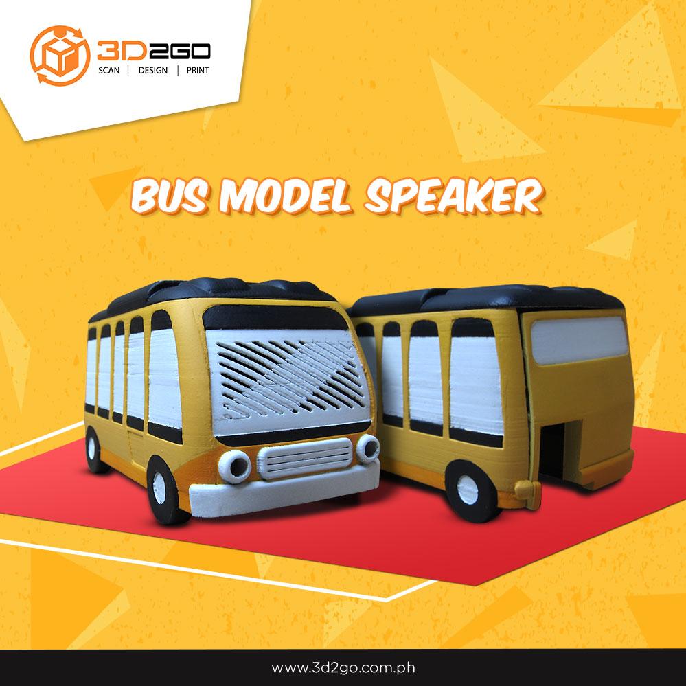 3D printed bus speaker