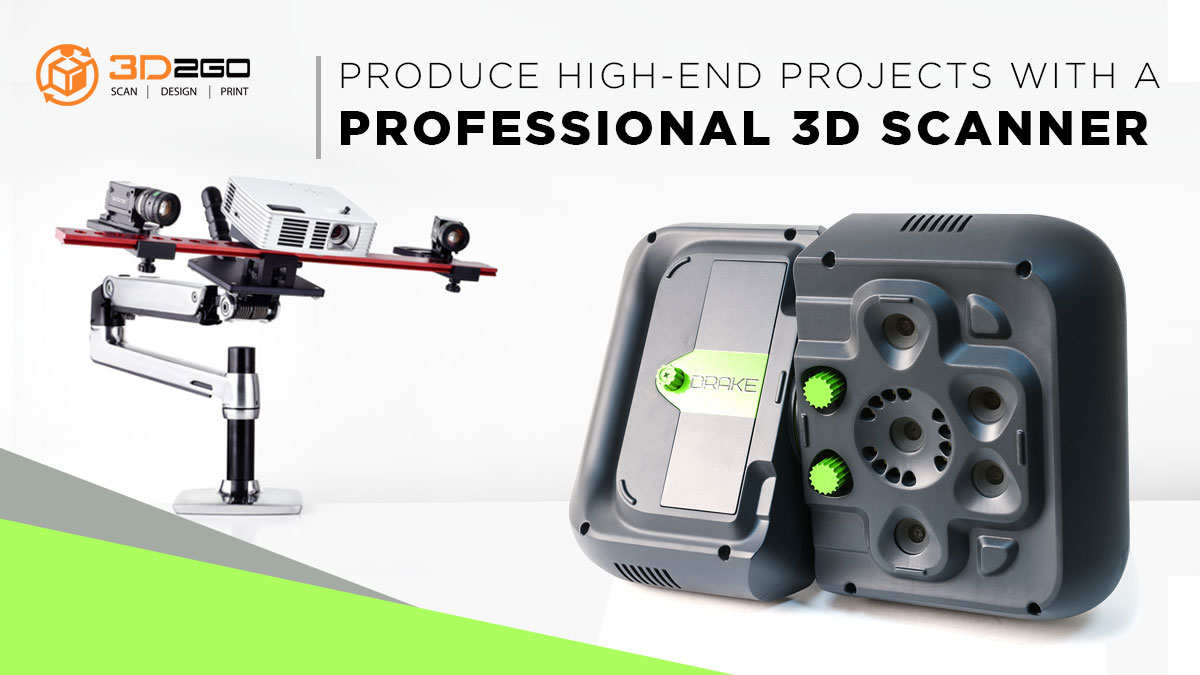 Professional 3D Scanners At Your Service - 3D2GO Philippines