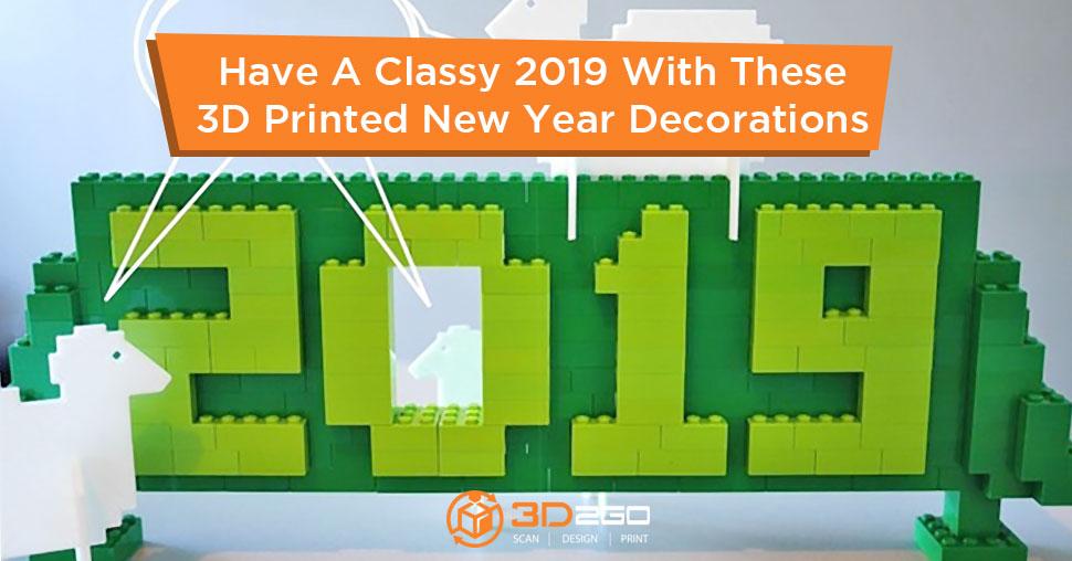 3D printed decors