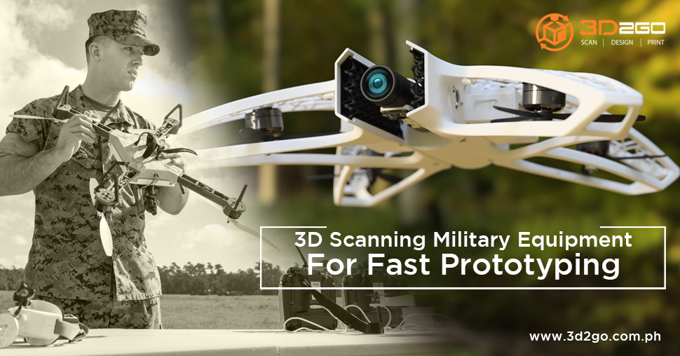 3D scanning for prototyping in the military
