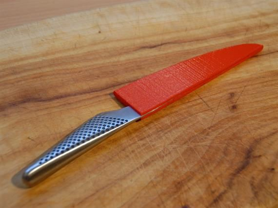3D printed knife sheath