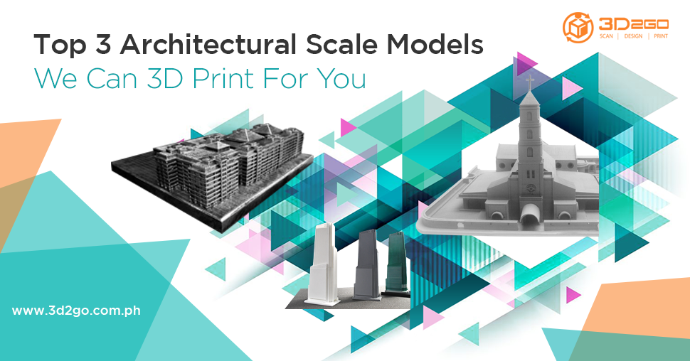 3D Printed Architectural Scale Model
