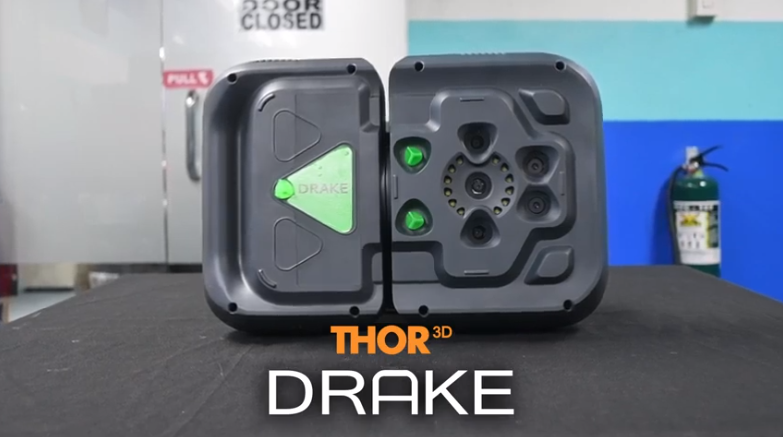 Drake 3D scanner