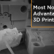 Advantages of 3D Printing