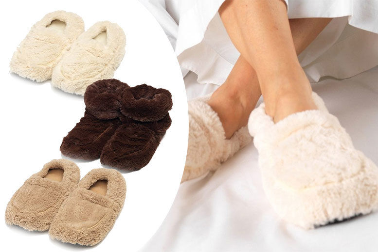 Valentine Gift Idea Warmies Slippers