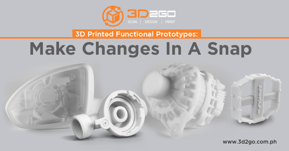 A blog banner by 3D2GO about 3D printed functional prototypes