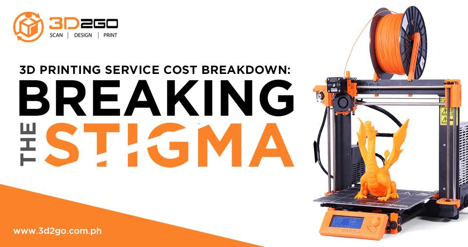 3D Printing Service Cost Breakdown