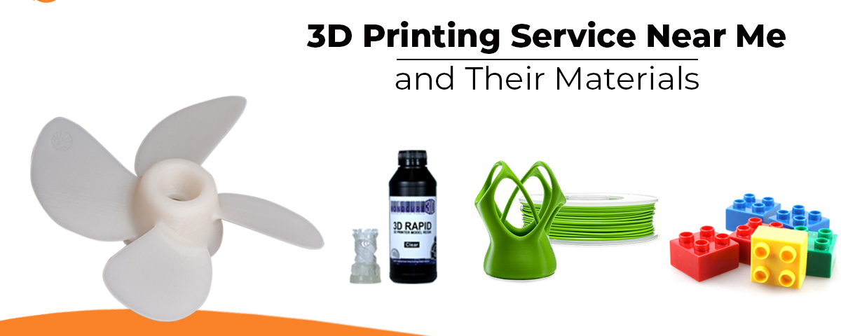 3D Printing Service Near Me and Their Materials