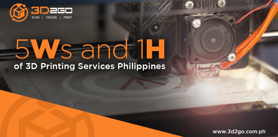 5 Ws & 1 H of 3D Printing Services Philippines