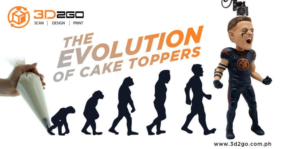 cake topper party design