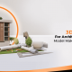 A blog banner by 3D2GO Philippines about 3D Services For Architectural Scale Model Maker Philippines