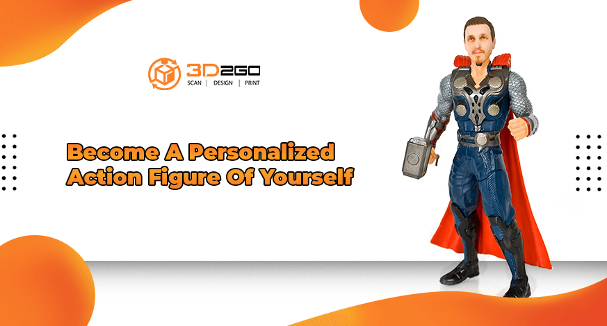 Become A Personalized Action Figure Of Yourself