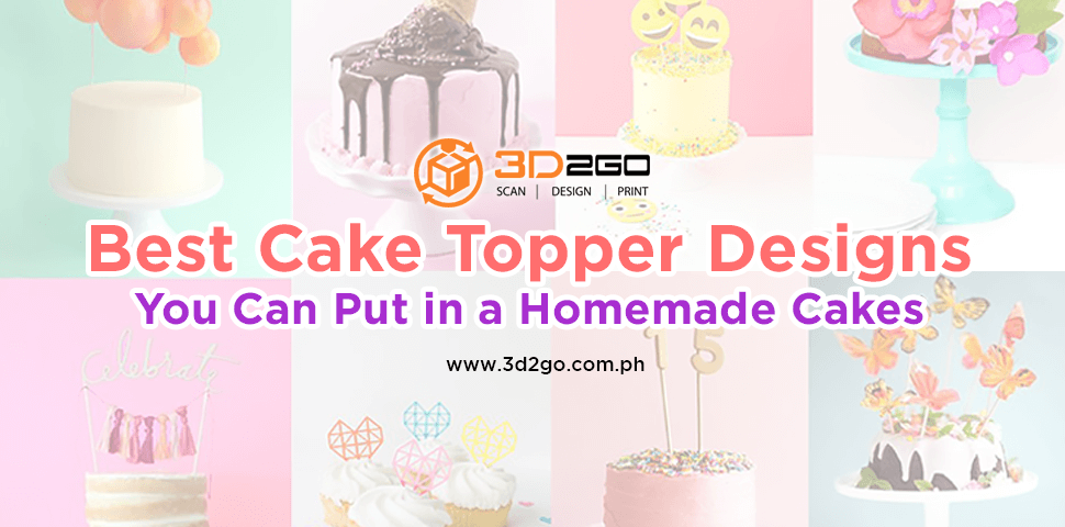 Best Cake Topper Designs You Can Put in Homemade Cakes