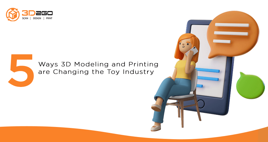 blog banner for 5 Ways 3D Modeling and Printing are Changing the Toy Industry