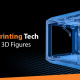 A blog banner by 3D2GO Philippines titled Best 3D Printing Tech for Custom 3D Figures