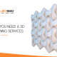 Blog banner for Here is Why You Need a 3D wall Designing Services by 3D2Go