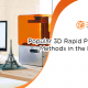 A blog banner by 3D2GO Philippines titled Popular 3D Rapid Prototyping Methods in the Philippines