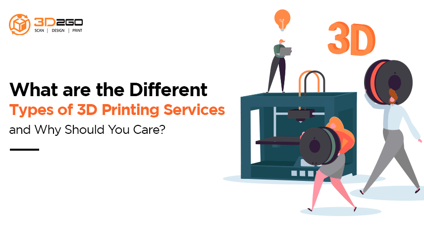 blog banner for What are the Different Types of 3D Printing Services and Why Should You Care?