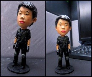 Mini-me bobblehead