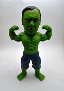 Custom Incredible Hulk bobblehead