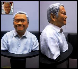 Custom Miniature Bust