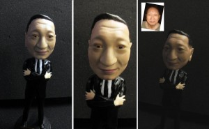 Custom Miniature bobblehead