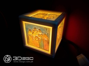 Wedding Lithopane