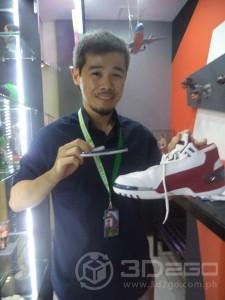Sneaker Toe cap trim