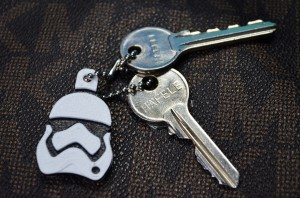 Storm Trooper Keychain