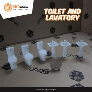 Toilet and lavatory