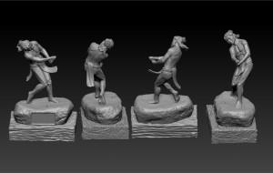 Igorot Sculpture 3D Model